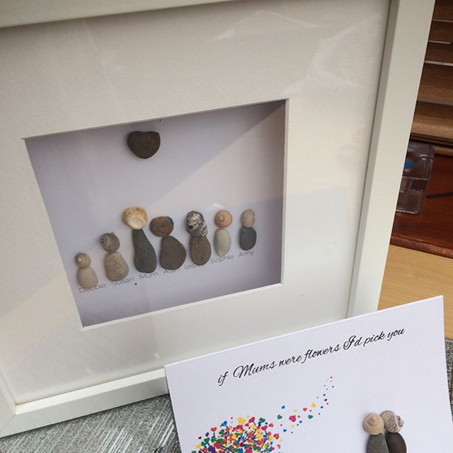 family, pebble art gifts